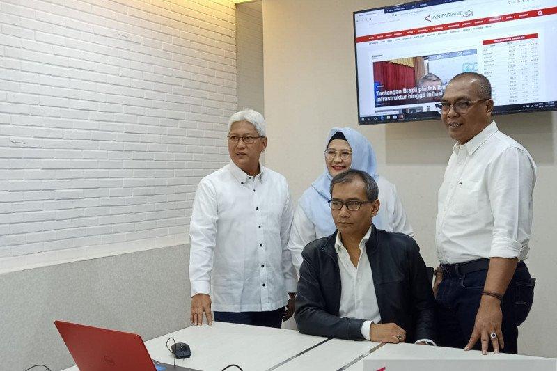 Komisi I DPR gelar Rapat Dengar Pendapat bersama LKBN Antara