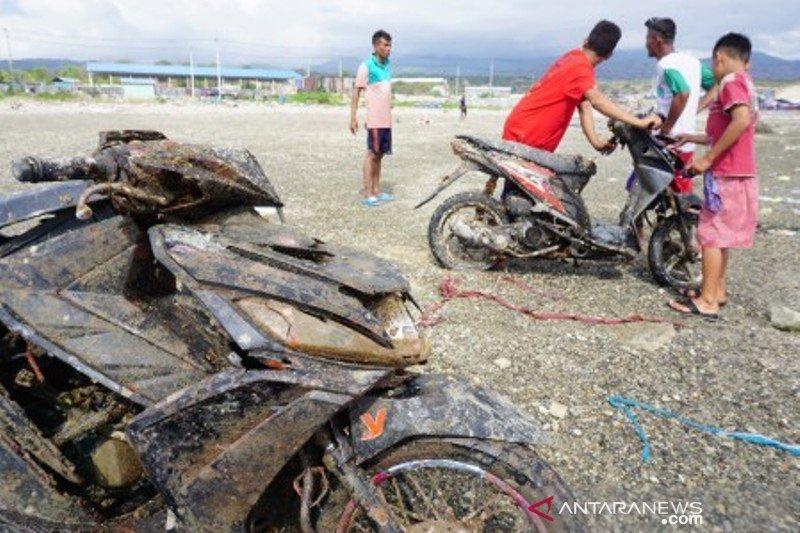 Motor terseret tsunami Palu kembali ditemukan