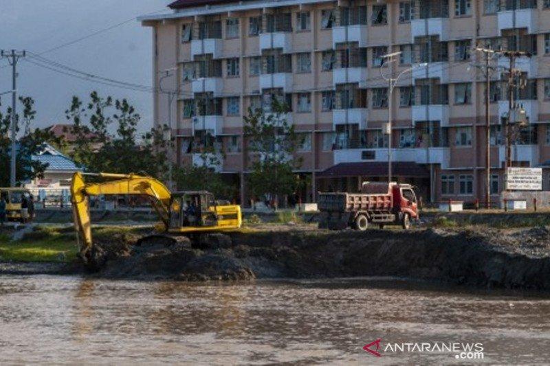 Pengerukan sungai Palu