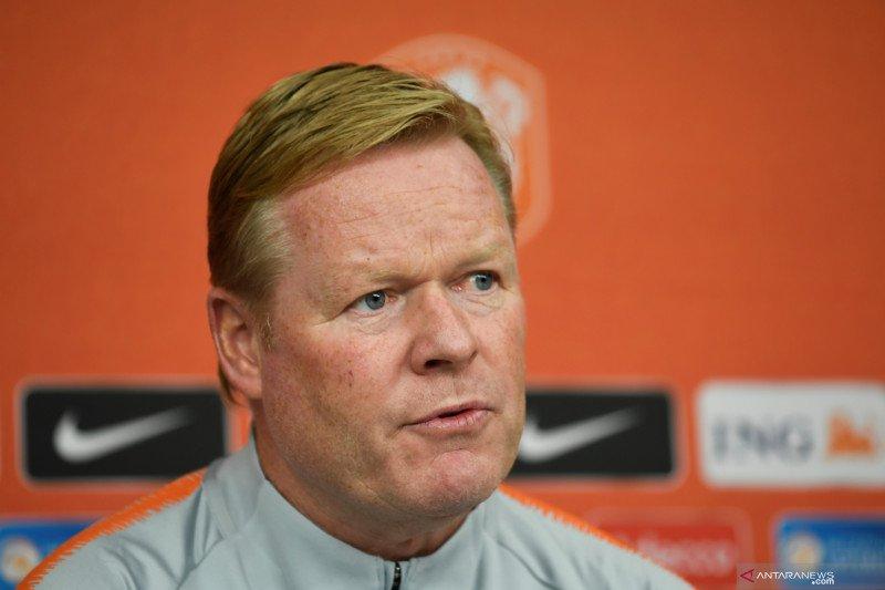 Pelatih Timnas Belanda Ronald Koeman senang opsi pemain tersedia
