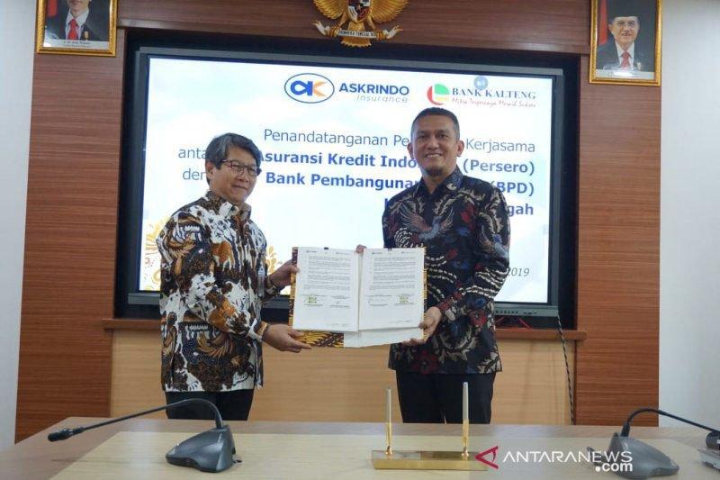 Bank Kalteng teken kerja sama dengan Askrindo dorong produk asuransi