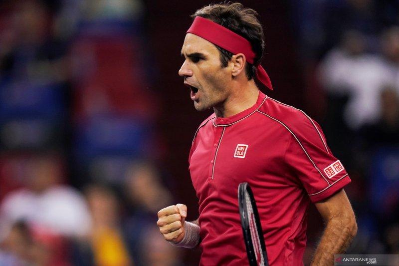 Kalahkan Djokovic, Federer ke semifinal ATP Finals