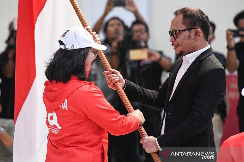 Menpora Hanif Dhakiri lepas Kontingen World Beach Games 1