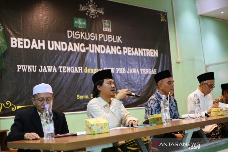 PKB dan PWNU Jateng sosialisasikan Undang-Undang Pesantren
