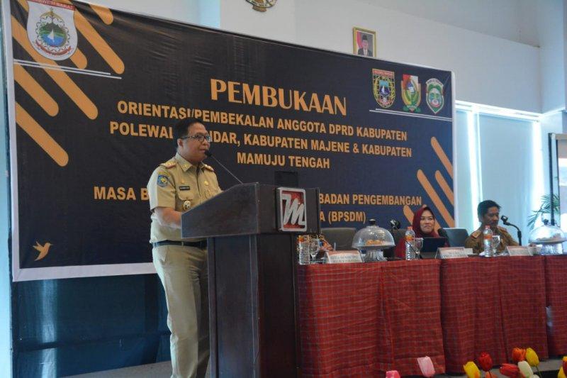 Sekprov Sulbar berharap anggota DPRD tingkatkan tiga fungsi