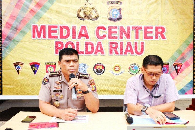 Polda Riau tahan petinggi PT SSS sebagai tersangka Karhutla