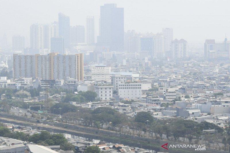 Polusi udara Jakarta masih masuk 12 besar di dunia