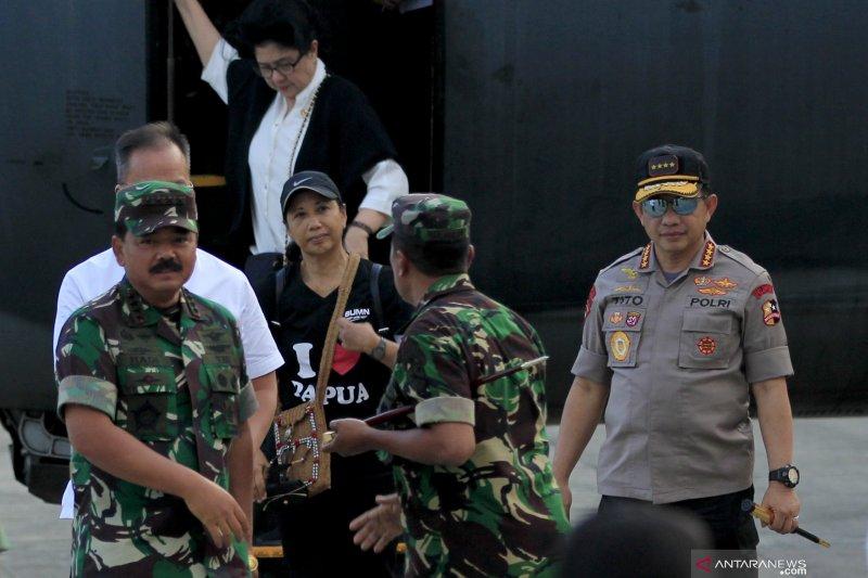 Panglima TNI bersama Kapolri dijadwalkan temui pengungsi di Timika