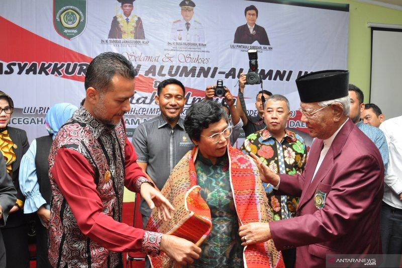 Syukuran pimpinan KPK terpilih