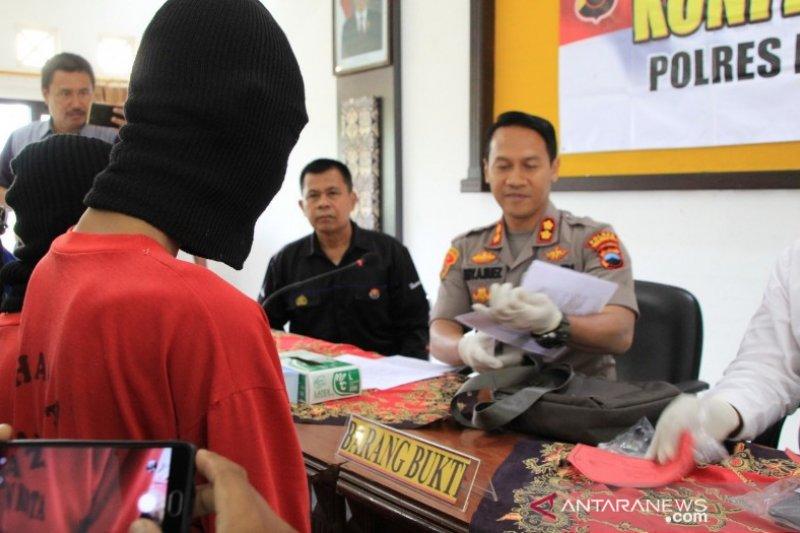 Dua bocah edarkan narkoba di Pekalongan ditangkap