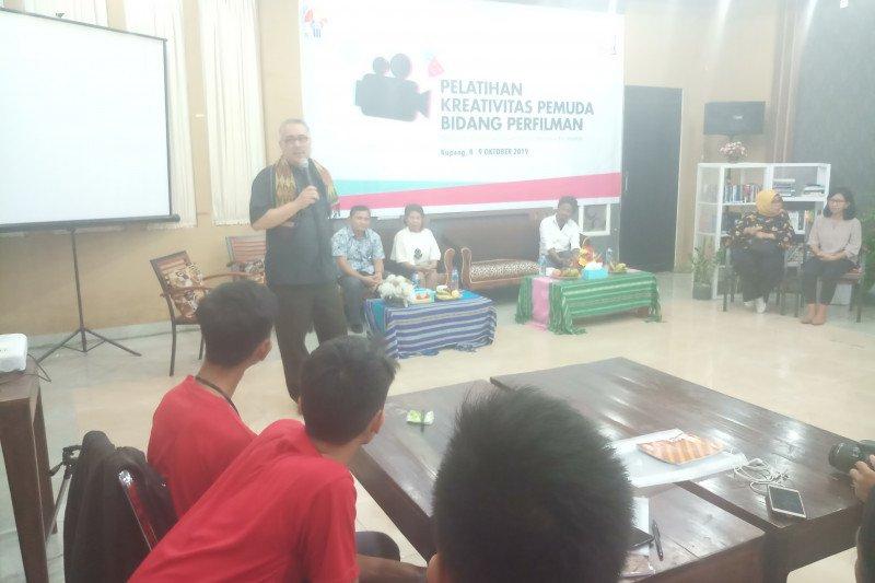 Puluhan anak muda di Kupang ikut pelatihan perfilman