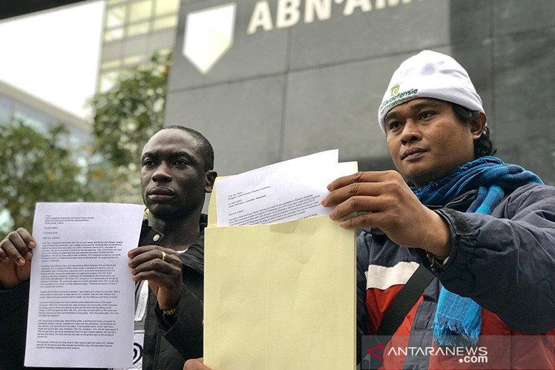 Aduan perampasan tanah petani Sulteng ke ABN-AMRO Amsterdam