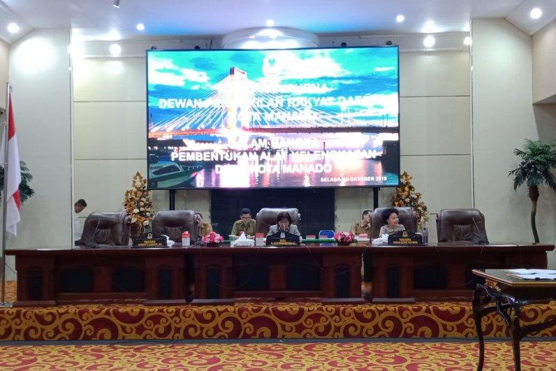 DPRD Manado resmikan semua kelengkapan Dewan
