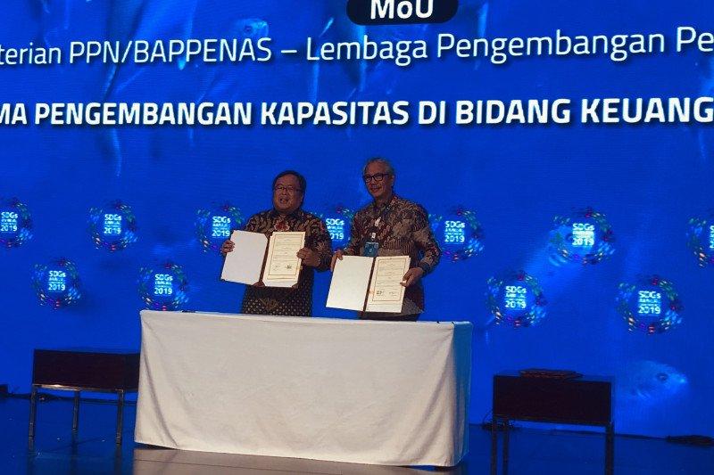 Bappenas tanda tangani nota kesepahaman pencapaian target SDGs