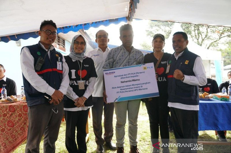 Menteri BUMN janjikan apresiasi bagi seluruh pegawai PLN di Wamena