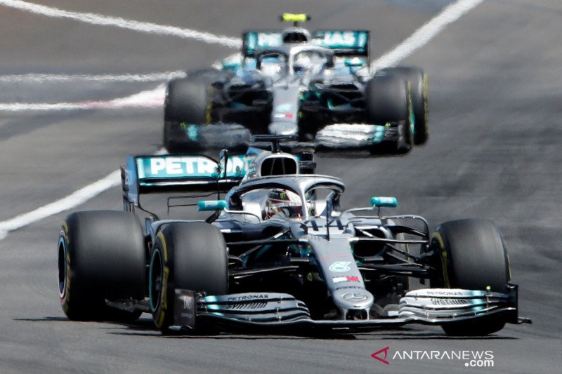 Mercedes berpeluang kunci juara dunia  konstruktor di GP Jepang