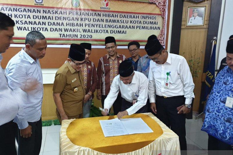Kemendagri minta Pemkab Inhu segera tandatangani NPHD Pemilu