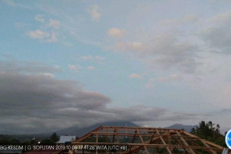Status Gunung Soputan Minahasa Tenggara jadi waspada
