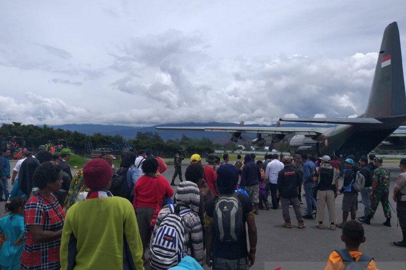 Forkopimda Jayawijaya sambut 87 eksodan yang kembali