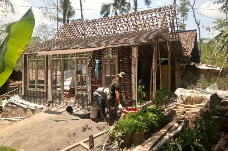 TMMD, perbaikan RTLH rumah Salam capai 25 persen