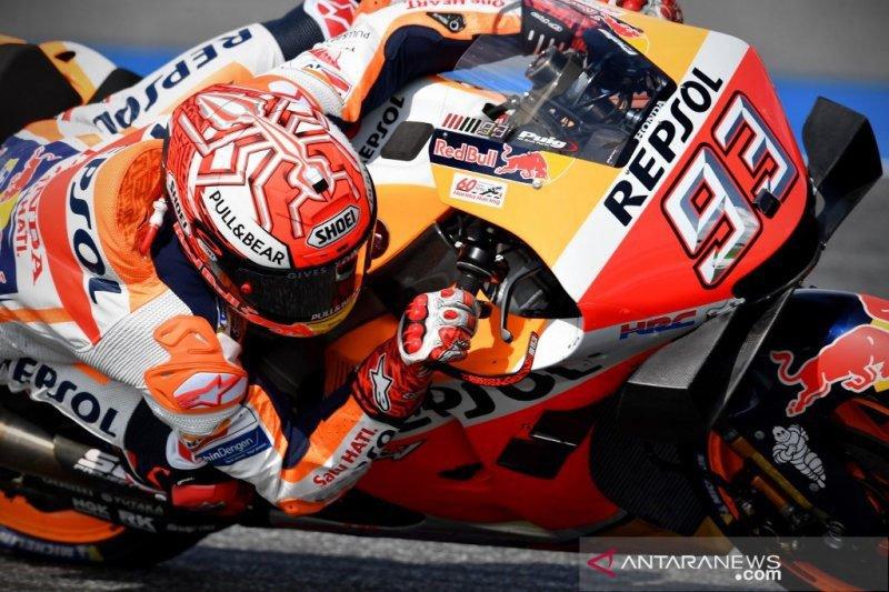Teknologi ini selamatkan Marquez dari kecelakaan di GP Thailand