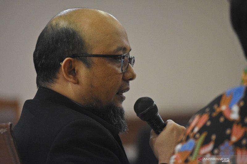 Novel Baswedan sebut enam anggota DPR tekan Miryam soal kasus korupsi KTP-e