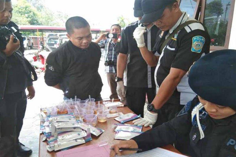 Oknum anggota DPRD Kapuas ditangkap diduga gunakan narkoba