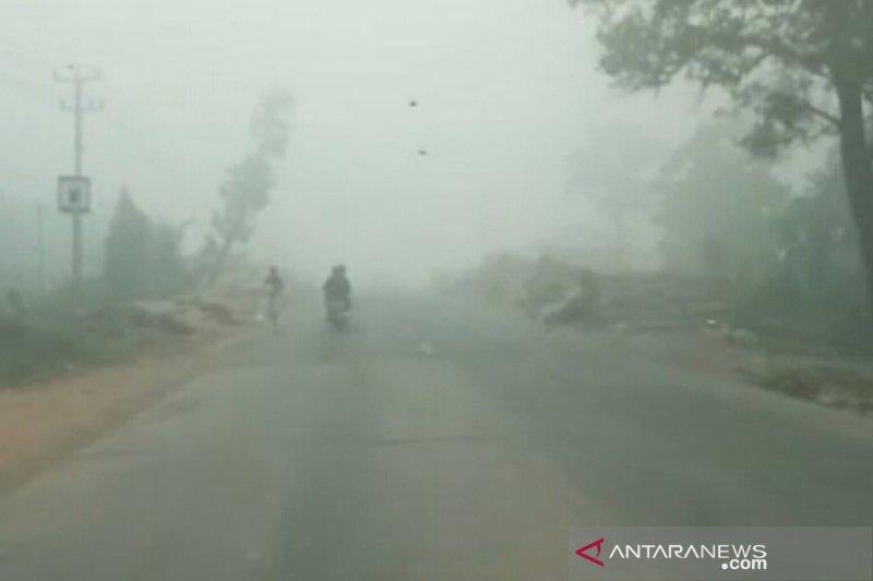 BMKG imbau masyarakat Palembang waspadai kiriman asap