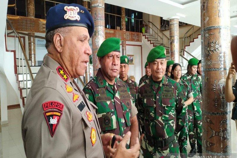 Kapolda: Tak ada anggota FPI atau laskar jihat ke Papua