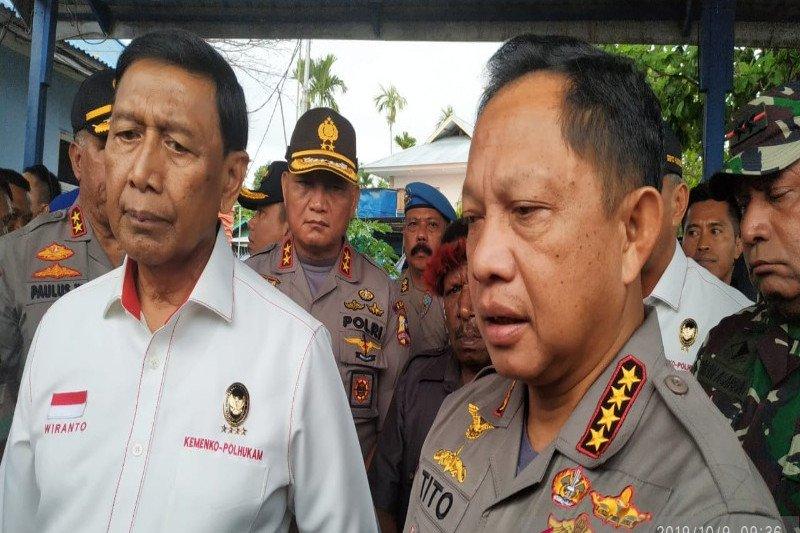 Kapolri: Gelar pasukan di Papua terus dilakukan hingga benar-benar aman
