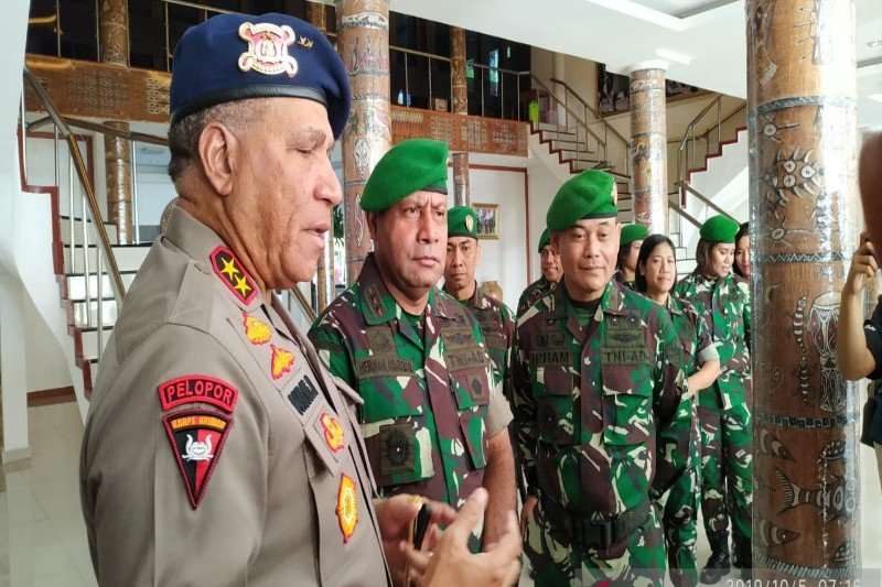 Kapolda: Situasi kamtibmas di kawasan pegunungan tengah Papua relatif aman