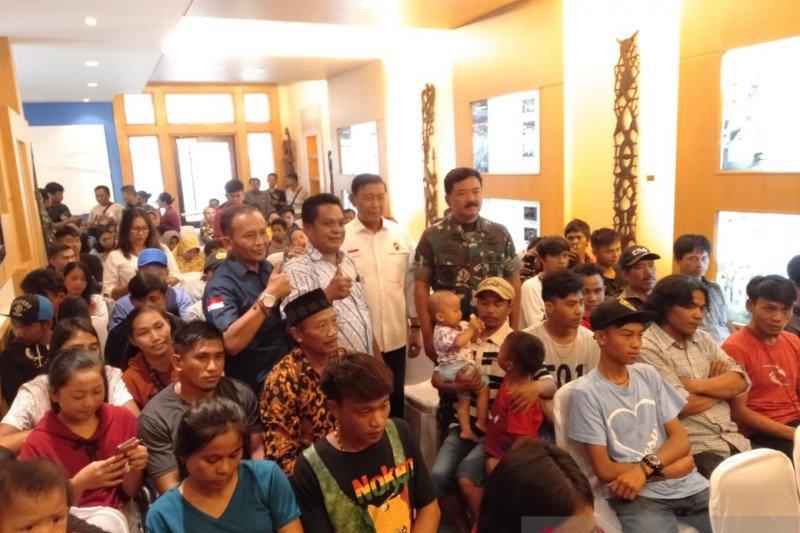 36 warga Sumut di Wamena tiba di Medan