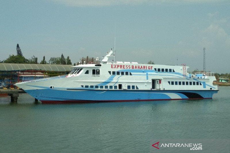 Kapal Bahari 6F rute Jepara-Karimunjawa diluncurkan