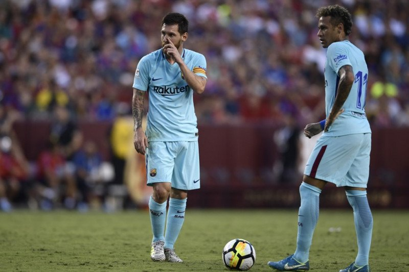 Messi sempat mengira Neymar bakal ke Madrid