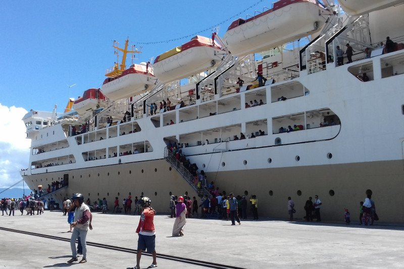 Puluhan pengungsi Wamena pulang ke Maluku Utara