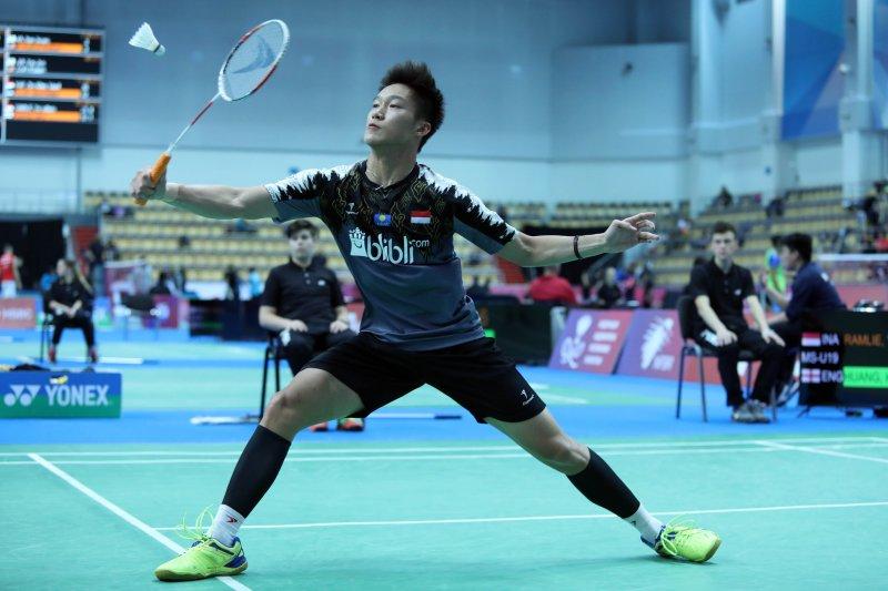 Yonathan raih tiket ke perempat final kejuaraan dunia junior