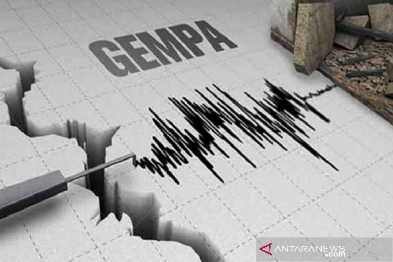 Gempa tektonik bermagnitudo 5,4 guncang Jailolo Maluku Utara