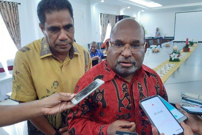Gubernur Papua mengapresiasi Pemkab Lanny Jaya berdayakan pengungsi Nduga