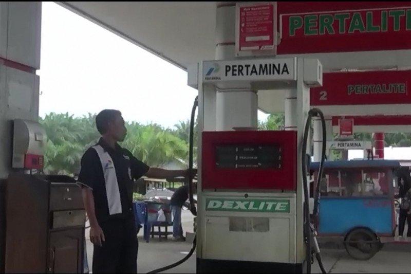 SPBU Batang Lingkin Pasaman Barat tak jual BBM subsidi