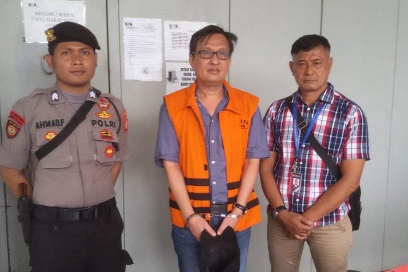 KPK eksekusi Bernard Hanafi Kalalo ke Lapas Klas I Tangerang