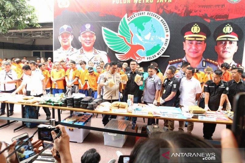 Polda Metro Jaya tangkap 410 orang dalam Operasi Nila Jaya 2019
