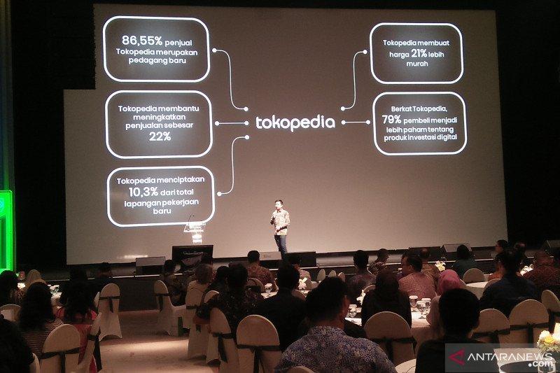 UI sebut Tokopedia berkontribusi Rp170 triliun kepada ekonomi Indonesia