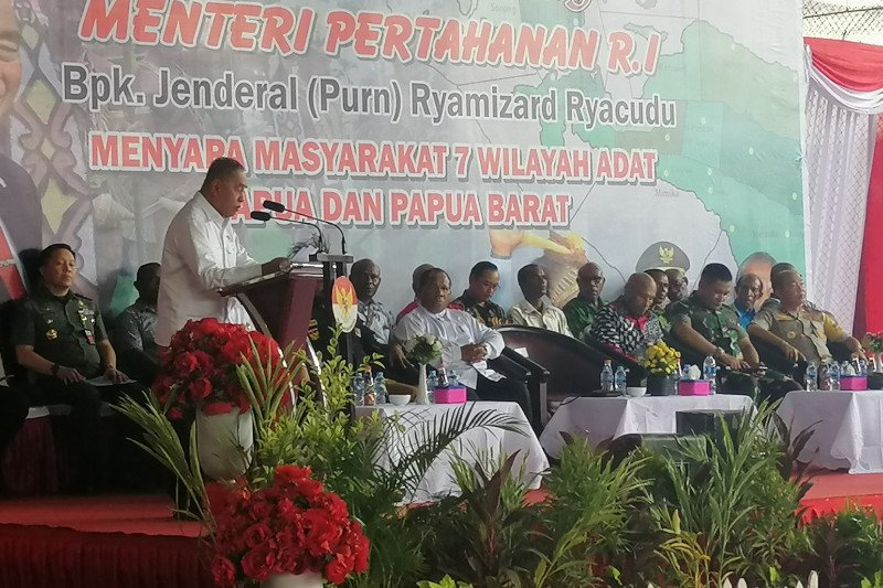 Menhan Ryamizard tegaskan Papua bagian integral Indonesia