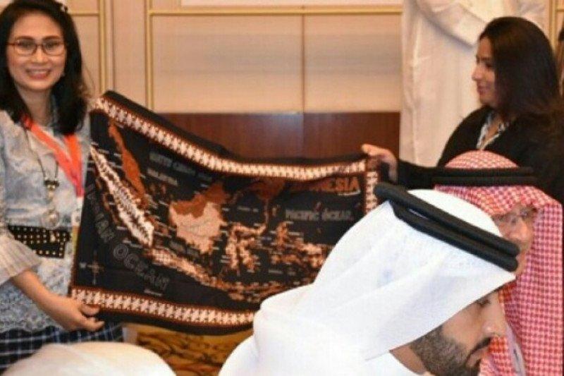 Sutera Mandar  khas Sulbar dipamerkan di Bahrain