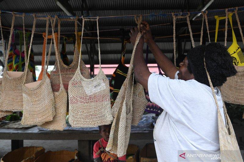 Mengusung tas noken menjadi ikon PON XX Papua
