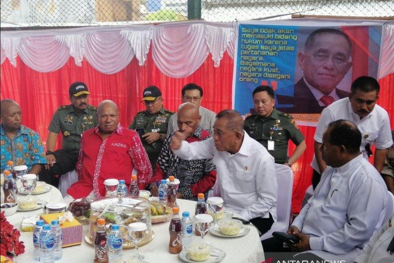 Menhan bertemu tujuh tokoh adat Papua-Papua Barat
