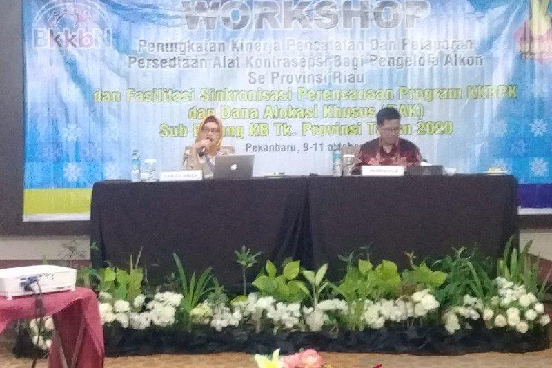 BKKBN: BKKBN Perwakilan Riau peroleh DAK tahun 2020 sebesar Rp54 miliar