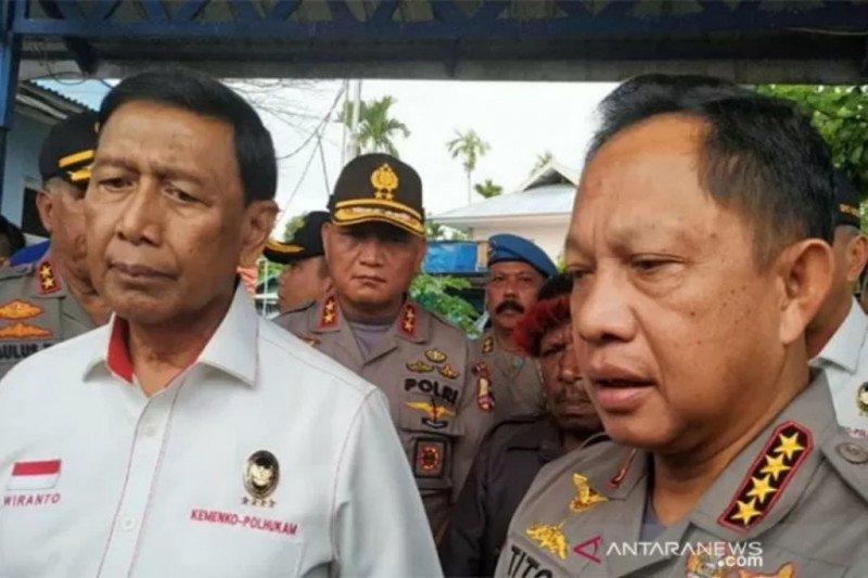 Ini kronologis penusukan Menko Polhukam Wiranto