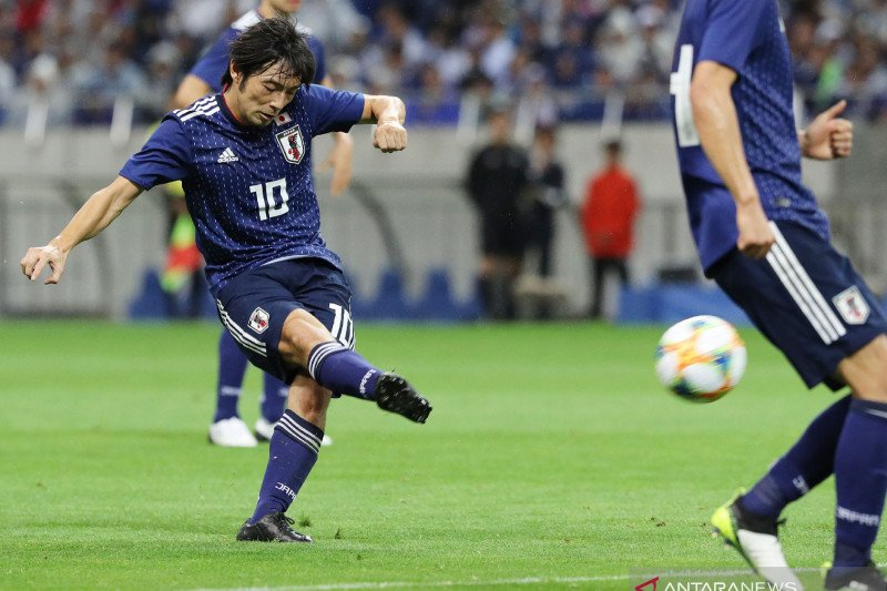 Jepang dan Kyrgizstan menang besar Kualifikasi Piala Dunia 2022