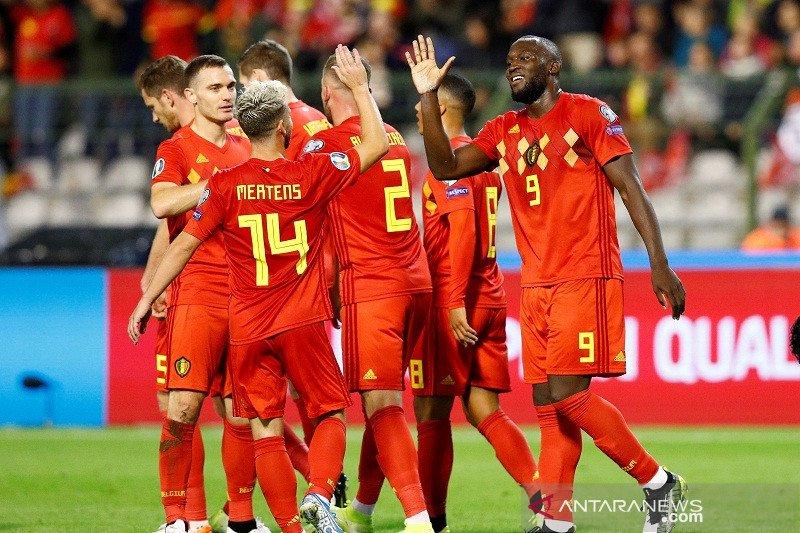 Tim nasional Belgia jadi tim pertama lolos ke putaran final